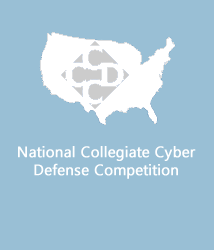 National Collegiate Cyber Defense Competition logo